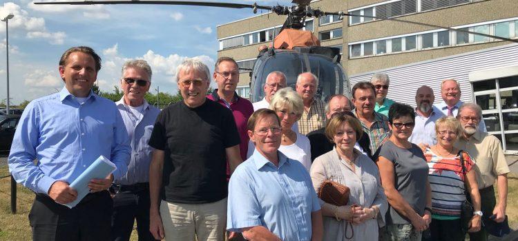Besuch bei ZF Luftfahrttechnik am Kassel Airport – Gewerbegebiet