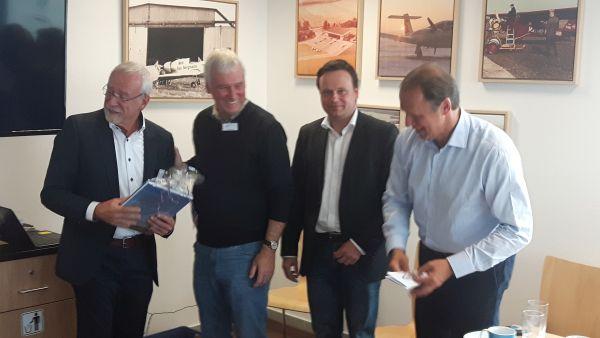 Besuch aus Lübeck beim Airport Grillen 2018